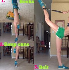 cheer stretching