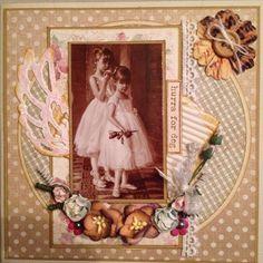 Enkelt gratulasjonskort. Bilde fra Nellie Snellen. Vingedies fra Sissix.