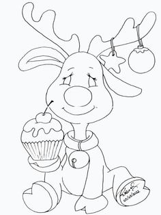 Christmas drawing Source by Christmas Templates, Christmas Printables, Animal Coloring Pages, Coloring Book Pages, Christmas Colors, Christmas Art, Illustration Noel, Christmas Drawing, Christmas Coloring Pages