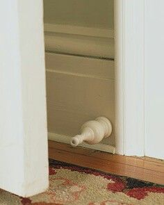 Interesting door stop...