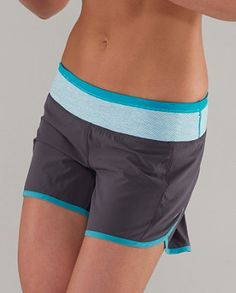 lulu lemon workout shorts.  apparently this is a brand I need to try!?