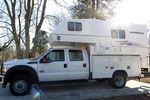 Northern Lite 10-2 dry bath camper with service body