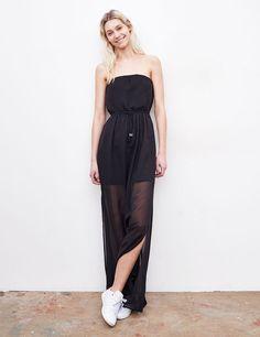 Robe longue bustier noir - http://www.jennyfer.com/fr-fr/collection/robes/robe-longue-bustier-noir-10007396060.html