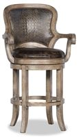 Bar and Game Room Nate Counter Chair Available in Normandy Finish only. Home Bar Furniture, Rustic Furniture, Bar Chairs, Bar Stools, Home Bars For Sale, Man Cave Bar, Western Cowboy, Game Room, Counter Chair