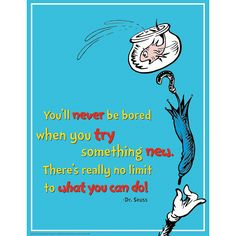 Dr.+Seuss™+Try+Something+New+Poster+-+OrientalTrading.com