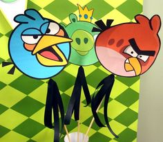 angry birds party~!