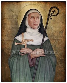 St. Brigid of Ireland  451-525 Feast day: February 1  Patronage: Ireland
