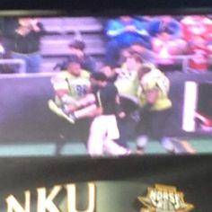 Jared Lorenzen Carried Off Field By 4 Guys