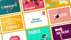 Airbnb identity, website, app redesign) - Fonts In Use Digital Creative Agency, Welcome Packet, Air B And B, Shanghai, Case Study, Mobile App, Identity, Typography, Product Launch