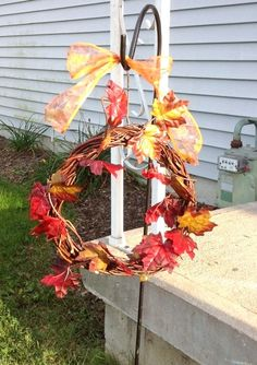 Dollar tree DIY wreath. Only cost me $3