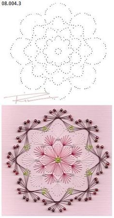 The Latest Trend in Embroidery – Embroidery on Paper - Embroidery Patterns Embroidery Cards, Embroidery Patterns, Hand Embroidery, String Art Templates, String Art Patterns, Card Patterns, Stitch Patterns, Art Carte, Sewing Cards