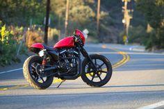 Harley-Davidson Sportster Cafe Racer - Silodrome