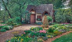 I would be happy to live in a tiny house if I could but have a vast garden...  Source: fairytalesbynature