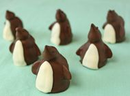 Penguin Truffle Recipe - How to Make Penguin Truffles - Chocolate Truffle Recipes