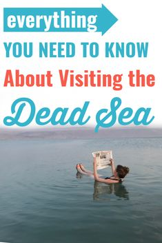 Everything You Need to Know About the Dead Sea » The Olive Brunette Dead Sea Israel, The Descent, Backpacking Asia, Hebrew Words, Adventure Awaits, All Over The World, You Can Do, Need To Know, Everything