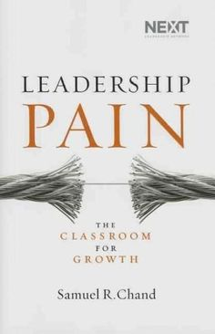 Do you want to be a better leader? Raise the threshold of your pain. Do you want your church to grow or your business to reach higher goals? Reluctance to face pain is your greatest limitation. There