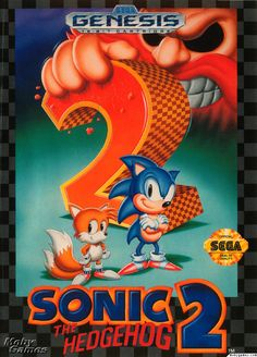Sonic the Hedgehog 2 Sega Genesis