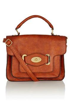 Top Handle Satchel Bag, £28