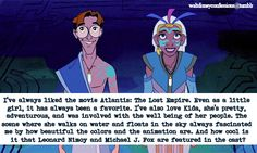 """""""I've always liked the movie Atlantis: The Lost Empire. Even as a little girl, it has always been a favorite. I've also love Kida, she's pretty, adventurous, and was involved with the well being of her people. The scene where she walks on water and..."""