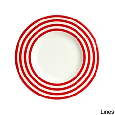 Red Vanilla Freshness Mix u0026 Match Red Salad Plates (Set of 6) by Red Vanilla  sc 1 st  Pinterest & Red Vanilla Freshness Mix and Match Red Dinner Plates (Set of 6) by ...