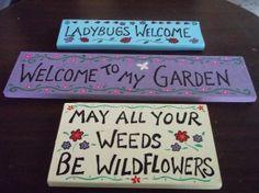 Funny Garden Signs | Signs Enhance Your Garden