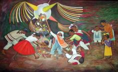 Pinata by Diego Rivera Diego Rivera Art, Diego Rivera Frida Kahlo, Frida And Diego, Mexican Christmas Traditions, Mexican Pinata, Mexican Artists, Latin Artists, Spring Art, Poses