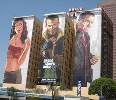 grand theft auto billboard building