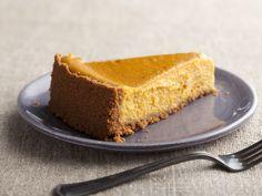 Hazelnut Pumpkin Pie recipe from Sunny Anderson via Food Network