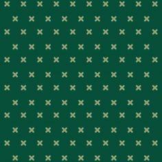 Cross Stitch - Green mixed - Full Coverage. Price 6,5 € Korssting - Grøn mønstermix - Heldækkende folie. Pris 45 dkk.