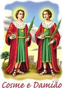 São Cosme e São Damião, que por amor a Deus e ao próximo vos dedicastes à cura do corpo e da alma de vossos semelhantes, abençoai os médicos e farmacêuticos ... Visitar página