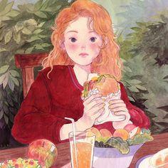 yoovora on - Pretty Art, Cute Art, Film Manga, Illustrator, Arte Sketchbook, Wow Art, Dark Souls, Aesthetic Art, Dark Fantasy
