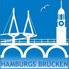 Hamburgs Brücken op een interactieve kaart