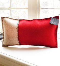 Felt Rectangle Pillow
