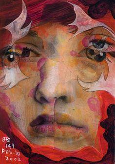 Project Showcase - Broken 1000 Faces by Takahiro Kimura Art And Illustration, Illustrations, Figurative Kunst, Artist Bio, Fukuoka, Japanese Artists, Painting & Drawing, Figure Drawing, Art Boards