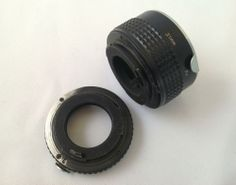 ASAHI PENTAX EXTENSION TUBE SET 13mm + 31mm PK ZWISCHENRING ADAPTERS FOR CAMERA