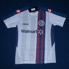 San Lorenzo Away football shirt 2010 - 2011 Football Uniforms, Football Shirts, Soccer Jerseys, Football Soccer, Messi, Sportswear, San, Club, T Shirt