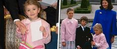 Estelle 2016 - Victoria, Carl-Philip & Madeleine ja kuningatar Silvia 1988