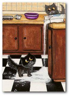 Kitchen Help by AmyLyn BiHrle