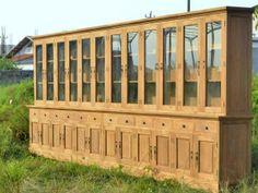 Produktneuheit im Sommer: Mega Teak Schrank aus Recyclingholz
