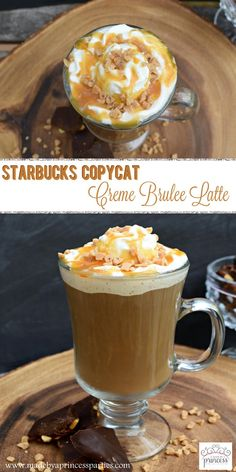 Wish you could have Starbucks Creme Brulee Latte anytime you want? I'm sharing how with my Starbucks Copycat Creme Brulee Latte Recipe. Keurig Recipes, Nespresso Recipes, Starbucks Recipes, Ninja Coffee Bar Recipes, Coffee Drink Recipes, Coffee Drinks, Coffee Coffee, Cold Brew Coffee Recipe, Coffee Menu
