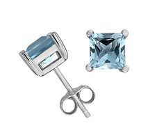 Blue Topaz, Sterling silver Earrings, #Something Blue