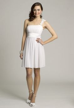 Short Dresses - One Shoulder Prom Dress from Camille La Vie and Group USA