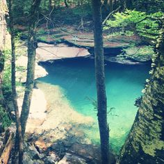 In the middle of a Catskills forest, Rondout Creek pours through a rock gap to create a deep swimming hole worthy of such rowdy camaraderie. Think jackknifes and cannonballs. To find the Peekamoose Blue Hole (and your inner Brad Pitt), follow New York Route 28A to West Shoken