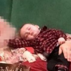 This Baby Slept Through His Visit with Santa, But Spurred the World's CUTEST Holiday Photo Idea