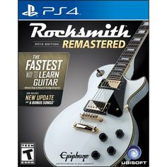 Rocksmith® 2014 Edition - Remastered - PlayStation 4, UBP30502054