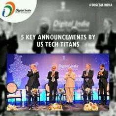 Here is how‪#‎DigitalIndia‬is creating a big impression...http://goo.gl/nTxwAm‪#‎ModiInUS