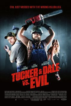 Tucker and Dale vs. Evil...  Watch: http://movies.netflix.com/WiMovie/Tucker_Dale_vs._Evil/70129463