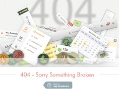 404 Broken UI by Mk