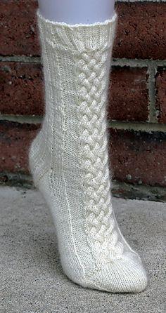 Twisted Sock Pattern by Dana Gervais. These socks are gorgeous! Crochet Socks, Knitting Socks, Hand Knitting, Knitted Hats, Knitting Patterns, Knit Crochet, Knit Socks, Knitting Projects, Crochet Projects