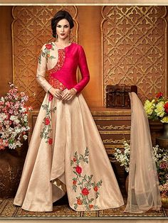 Shop online delightful peach color georgette embroidered designer salwar suit for wedding party at very attractive prices. Explore designer collection of indian salwar suits on exclusive offers and discounts. #peachanarkali #embroidered #salwarsuit #onlineshopping #anarkalidress #peachdress #partyweardress #weddinganarkali #designergowns #traditionalwear #shipping #UK #USA #France #Germany #Denmark #Europe